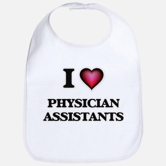 I love Physician Assistants Bib