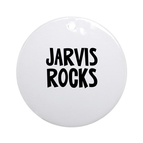 Jarvis Rocks Ornament (Round)