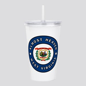 West Virginia Acrylic Double-wall Tumbler