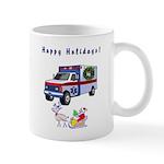 EMS Happy Holidays Greetings Mug