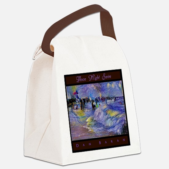 Avon Night Swim Canvas Lunch Bag