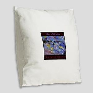 Avon Night Swim Burlap Throw Pillow