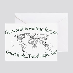 The World Is Waiting Greeting Cards (Pk of 10)
