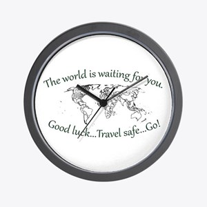 The World Is Waiting Wall Clock