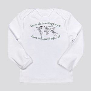 The World Is Waiting Long Sleeve Infant T-Shirt