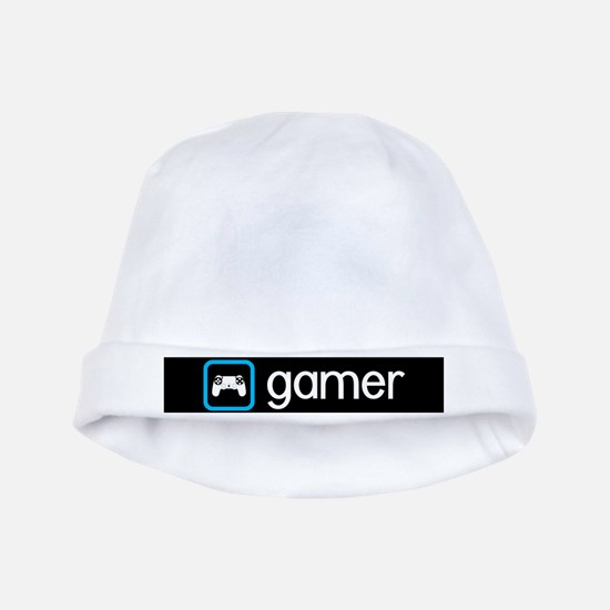 Gamer (Blue) Baby Hat