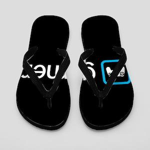 Gamer (Blue) Flip Flops