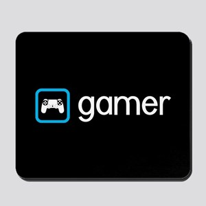 Gamer (Blue) Mousepad