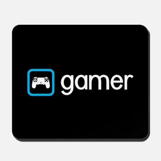 Gamer (Blue) Mousepad