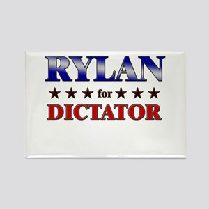 RYLAN for dictator Rectangle Magnet