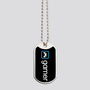 Gamer (Blue) Dog Tags