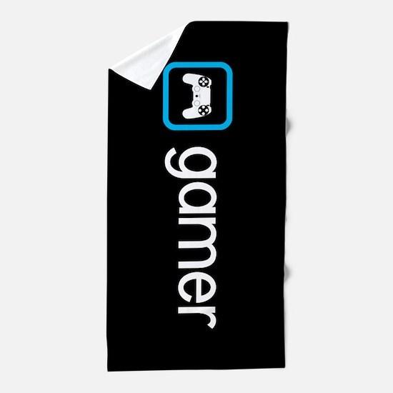 Gamer (Blue) Beach Towel