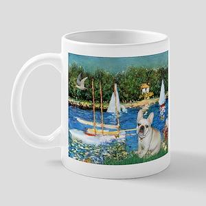Sailboats / Fr Bulldog(f) Mug