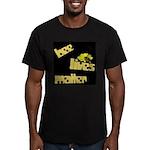 Bee Lives Matter Men's Fitted T-Shirt (dark)