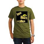 Bee Lives Matter Organic Men's T-Shirt (dark)