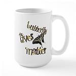 Butterfly Lives Matter Large Mug Mugs