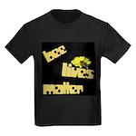 Bee Lives Matter Kids Dark T-Shirt