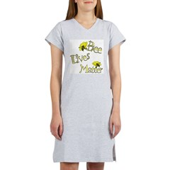 Bee Lives Matter Women's Nightshirt