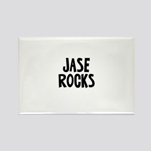 Jase Rocks Rectangle Magnet