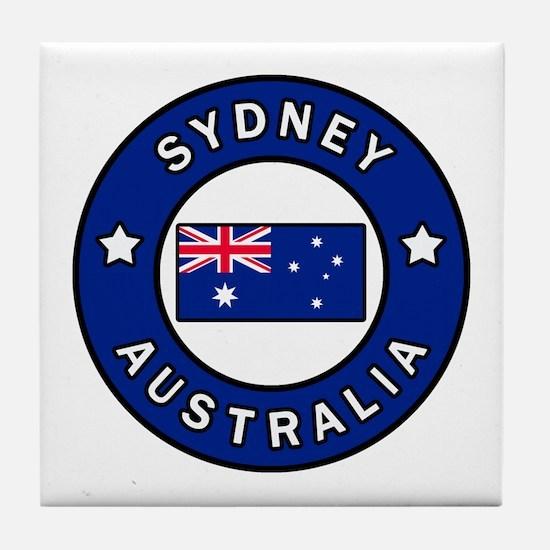 Cute Wollongong t Tile Coaster