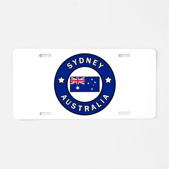 Sydney Australia Aluminum License Plate