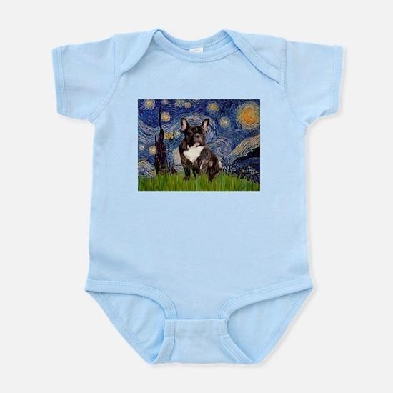 Starry / Fr Bulldog(brin) Infant Bodysuit