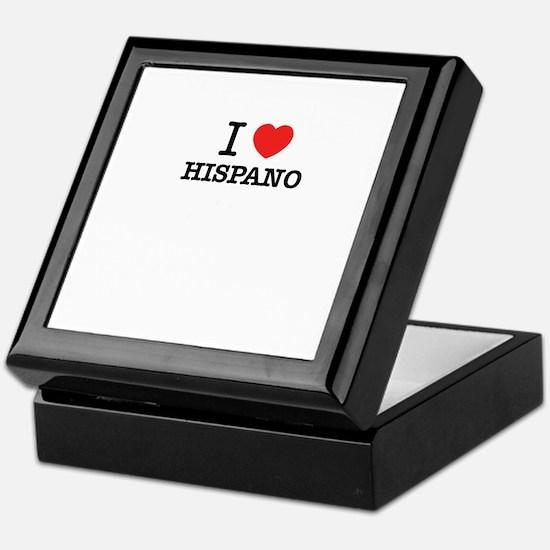I Love HISPANO Keepsake Box
