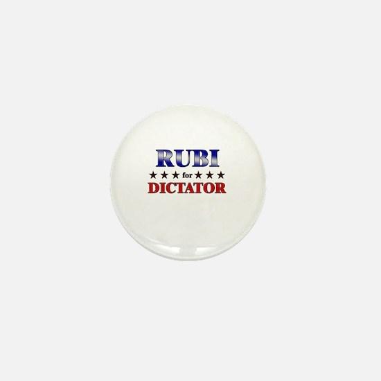 RUBI for dictator Mini Button