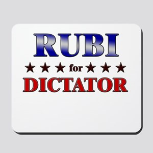 RUBI for dictator Mousepad
