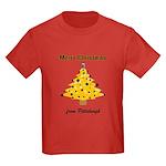 Pgh Xmas Kids Dark T-Shirt