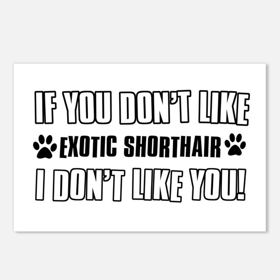 If You Don't Like Exotic Postcards (Package of 8)