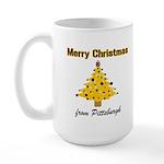 Pgh Xmas Large Mug