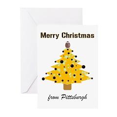 Pgh Xmas Greeting Cards (Pk of 10)