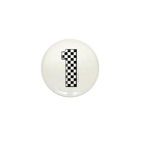 Car number #1 Mini Button