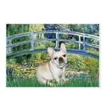 Bridge / Fr Bulldog (f) Postcards (Package of 8)