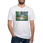 Bridge / Fr Bulldog (f) Fitted T-Shirt