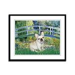 Bridge / Fr Bulldog (f) Framed Panel Print