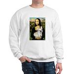 Mona / Fr Bulldog (f) Sweatshirt