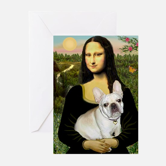 Mona / Fr Bulldog (f) Greeting Cards (Pk of 10)