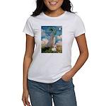 Umbrella /Fr Bulldog (f) Women's T-Shirt