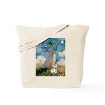 Umbrella /Fr Bulldog (f) Tote Bag