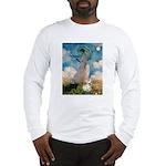 Umbrella /Fr Bulldog (f) Long Sleeve T-Shirt