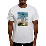 Umbrella /Fr Bulldog (f) Light T-Shirt