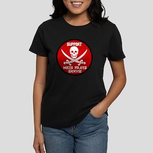Support Mike's Pirates Women's Dark T-Shirt
