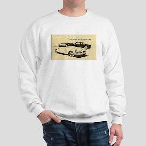 Two '53 Studebakers on Sweatshirt