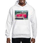 Red Studebaker on Hooded Sweatshirt