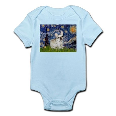 Starry / Fr Bulldog (f) Infant Bodysuit
