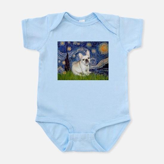 Starry / Fr Bulldog (f) Infant Bodysuit