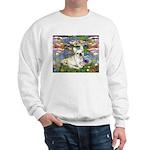 Lilies / Fr Bulldog (f) Sweatshirt
