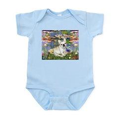 Lilies / Fr Bulldog (f) Infant Bodysuit